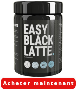 Easy Black Latte effet